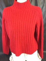 The Limited American Red Sweater Women Size Large Bin36#18 - $8.60