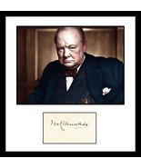 Ultra Rare - Winston Churchill - Legend of History - Authentic Signed Au... - $249.99