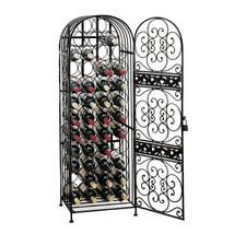 45-Bottle Antique Floor Wine Rack - $171.35