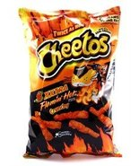 Cheetos XXTRA Flamin' Hot Crunchy Cheese Flavored Snacks - $6.34