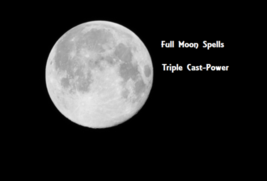 RARE BLUE FULL MOON Spell ANY DESIRE Wishes Made Ritual POWER Wiccan Celtic - $19.99