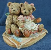 Cherished Teddies Twice As Nice With You 950513 Nathaniel & Nellie 1991 ... - $11.95