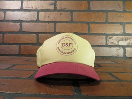D&F Roofing Contractor Inspection Service Co Adjustable Hat Adult Cap - $9.49