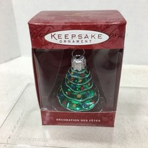 2000 Lil Christmas Tree Hallmark Christmas Tree Ornament MIB Price Tag H2 - $9.41