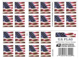 Stamps 20 Book Usps Flag 2017 Forever Us Postage U S 5 Books Sided Booklet - $29.73