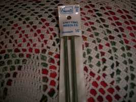 "14"" Grants Knitting Needles Size 6 - $4.00"