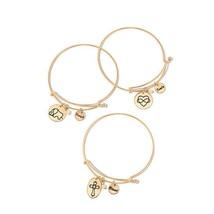 Avon Precious Charms Bracelet Family Values Family Heart Jewelry NIB - $6.81