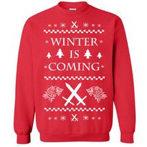 360 Winter Crew Sweatshirt christmas stark sweater king ugly party college - $20.00+