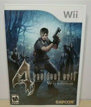 Resident Evil 4 -- Wii Edition (Nintendo Wii, 2007) - $12.86