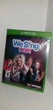 Nuovo Sigillato We Sing Pop Gioco per Microsoft Xbox One Console No Mics P11 - $24.70