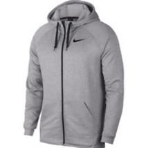 Mens Nike Dri-Fit Full Zip Hoodie 2XL - Grey - $139.97