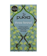 Pukka Organic Three Fennel 20 Teabags (Pack of 4, Total 80 Teabags)  - $22.00