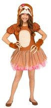 Fun World Sassy Sloth Animals Cute Dress Childrens Halloween Costume 124852 - $25.99