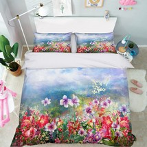 3D Paint Parterre 26 Bed Pillowcases Quilt Duvet Single Queen King US Summer - $102.84+
