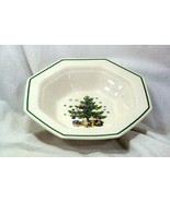 Nikko ChristmasTime  #259 Round Vegetable Bowl - $18.89