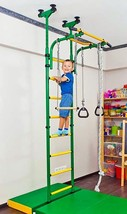 Playground, Gym for Kids, Gymnastic Rings, Rope Trapeze Bar, Steps Indoo... - $346.49