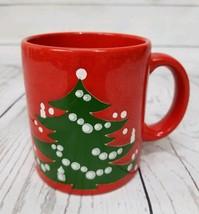 Vintage Waechtersbach Christmas Tree Festive Holiday Mug Cup Coffee Tea ... - $14.80