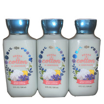 Bath & Body Works Sheer Cotton & Lemonade Body Lotion 8oz - Lot of 3 - $26.36