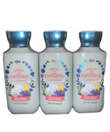 Bath & Body Works Sheer Cotton & Lemonade Body Lotion 8oz - Lot of 3 - $26.36