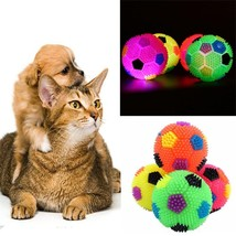 Pet Dog LED Light-up Flashing Play Toy Chasing Bounce Rubber Puppy Train... - $12.70