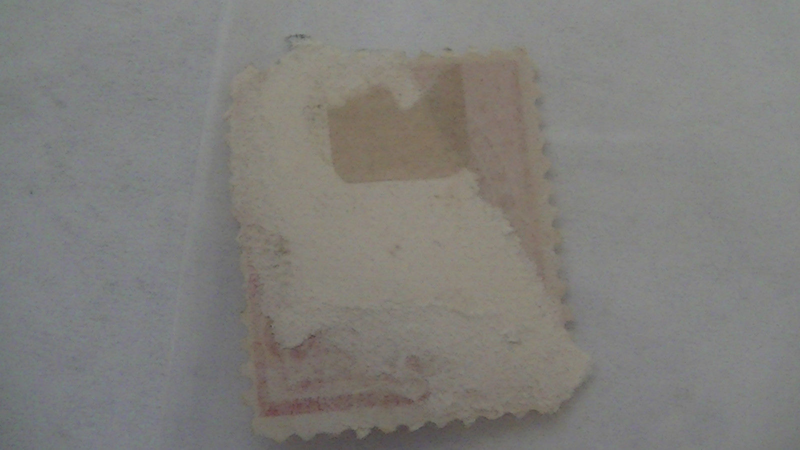 Used Rose Vintage USA 2 Cent Stamp