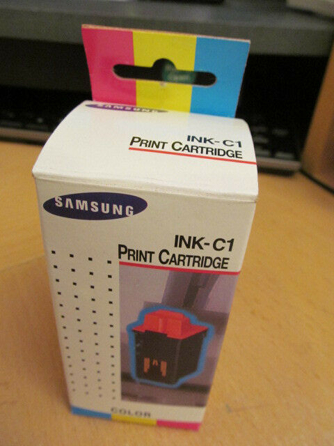 New Genuine Samsung INK-C1 (INKC1) SF4000 SF4100 SF4200 COLOR INK CARTRIDGE - $7.87