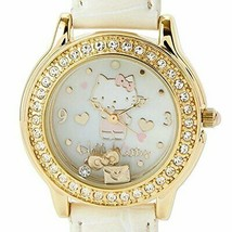 f669111a1 Hello Kitty Wrist Watch White Charm Series 2016 Sanrio Japan New Best De.
