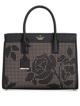 Kate Spade Candace Satchel Cameron Street Perforated