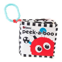 Sassy Peek-a-Boo Activity Book with Attachable Link for On-The-Go Travel - $10.00