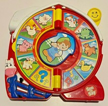 See N Say The Farmer Says Animal Sounds Fisher Price 2003 Nostalgic Classic Toy - $34.65