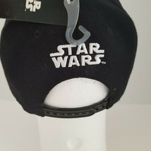 Disney Star Wars Snapback Hat Black White Embroidery May The Force Be Wi... - $22.49
