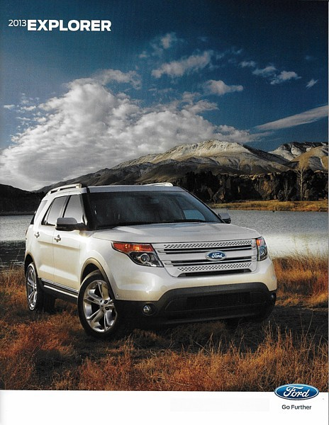 Primary image for 2013 Ford EXPLORER sales brochure catalog 2nd Edition US 13 XLT Limited