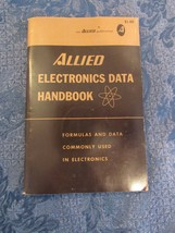 Allied Electronics Data Handbook Formulas And Data Commonly Used In Elec... - $9.91
