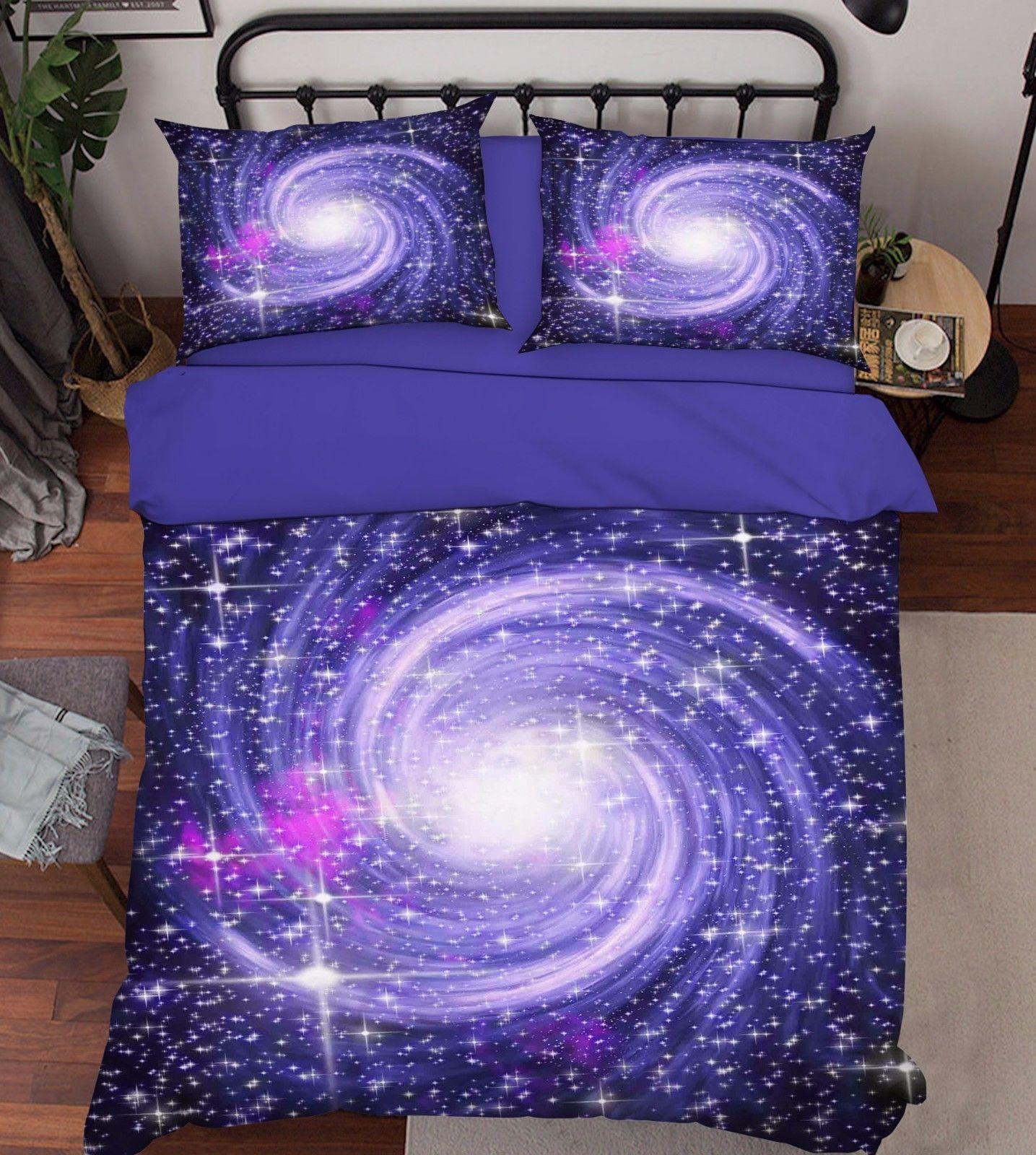 3D Nebula Sky 23 Bed Pillowcases Quilt Duvet Cover Set Single Queen King Size AU - $90.04 - $122.20