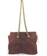 Vintage Prada Quilted Tessuto Nylon Chain Strap Shoulder Bag Tote Handba... - $1,250.00