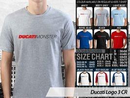 NEW T Shirt Automotive Ducati Monster Many Color & Design Option - $10.99+