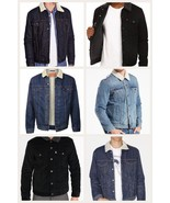 Levis Denim Sherpa Trucker Jackets Men's Many Colors and Sizes New S L M... - $56.84+