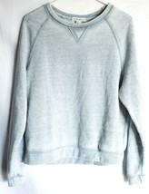 Forever 21 00137482 Faded Light Blue Long Sleeve Sweatshirt Size M image 1