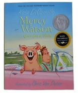 Mercy Watson Goes for a Ride (Series 2 Book) Ages 6-9 Years Old - $2.25