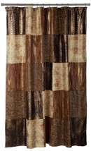 "Popular Bath Zambia Copper Collection - 70"" x 72"" Bathroom Shower Curtain - $30.09"