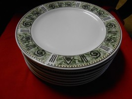 "Great Dinnerware-MAJESTICWARE By Oneida ""Incas"" Pattern 7 Dinner Plates - $19.81"