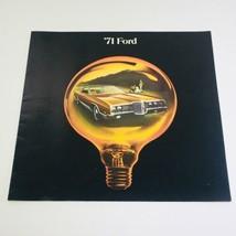 1971 Ford LTD Brougham 2-Door Hardtops Dealership Car Auto Brochure Catalog - $8.51