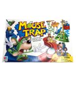 Mouse Trap Board Game 2005 Hasbro Milton Bradley Mousetrap Building Kid ... - $16.39