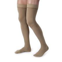 Jobst forMen 15-20 mmHg Large Khaki Thigh High - $51.52