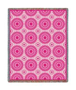 Blossom Pink Throw - 70 x 54 Blanket/Throw - $64.95