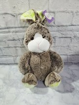 Animal Adventure Plush Bunny Rabbit 13 Inch Stuffed Animal Easter Kids G... - $20.09