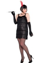 Flashy Flapper Roaring 20's Costume Women's Plus 18-20 18 20 - $37.99
