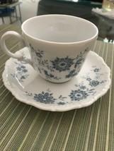 SELTMANN W.Germany CHRISTINA BAVARIAN BLUE Cups and Saucers - $2.00