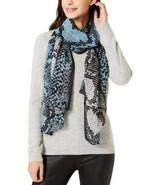 Calvin Klein Women's Colorblocked Python-Print Scarves - $27.90