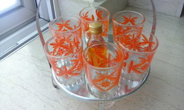 SET OF 6 LIQUER CUPS WITH THE ORIGINAL BOTTLE N... - $15.00
